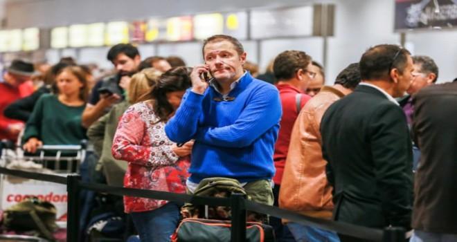 Brüksel Havalimanı'nda grev 6. gününde