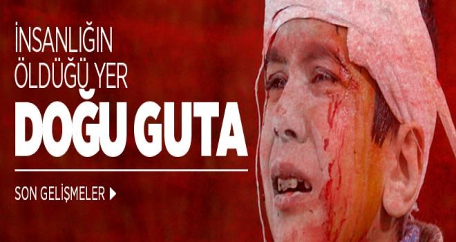Doğu Guta'da son 3 günde 300'den fazla sivil öldü