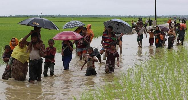 Bangladeş'e geçen Arakanlı Müslümanların sayısı 60 bini buldu