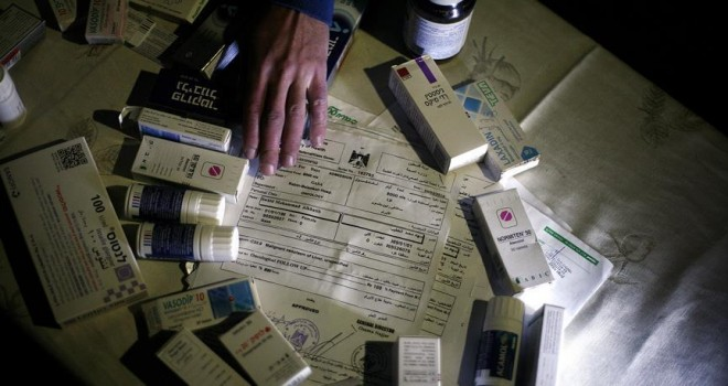 Gazze'de kanser hastaları ilaç krizinde