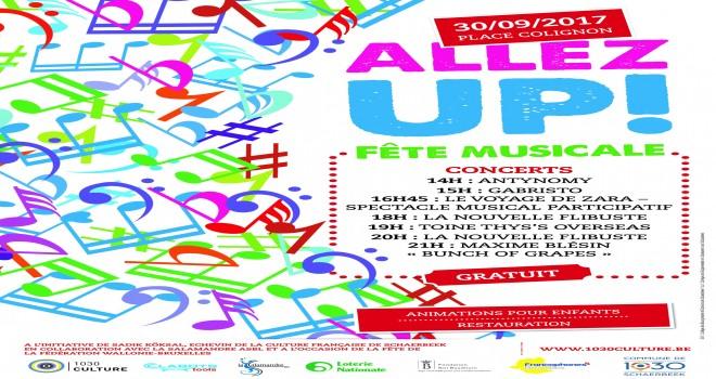 'Allez Up !' Schaerbeek'te Yılın Müzik festivali