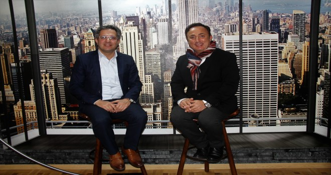 B.K. editörü Kadir Duran,  Brüksel Bölge Milletvekili Şevket Temiz ile konuştu