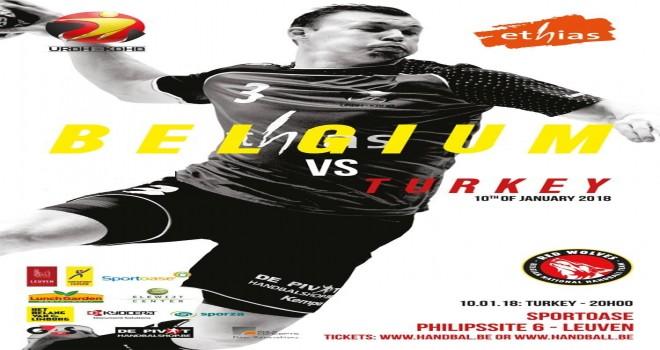 Dünya Hentbol Şampiyonası  maçında Türkiye A Milli Erkek Hentbol Takımı   Belçika A Milli Erkek Hentbol Takımı ile karşılaşacak.