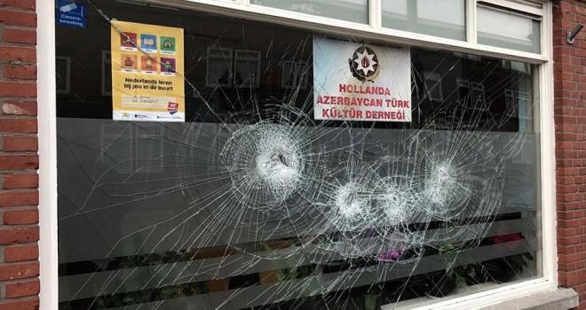 Hollanda'da Azerbaycan Türk Kültür Derneğine saldırı