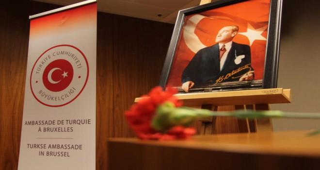 Ulu Önder Mustafa Kemal Atatürk'ün 10 Kasım 1938 günü ebediyete intikalinin 81. yıldönümü