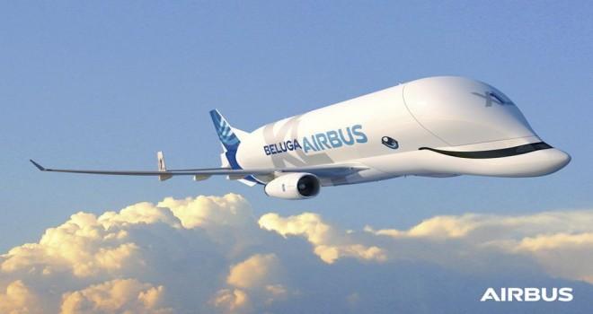 Büyük samimi dev: Nakliye uçağı Beluga XL ilk başarılı uçuşunu gerçekleştirdi