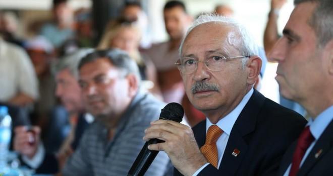 CHP Genel Başkanı Kılıçdaroğlu: Bu ülkenin bütün sorunlarını çözmeye talibim