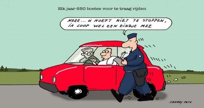 Çok yavaş araç kullanan sürücülere de para cezası uygulanıyor