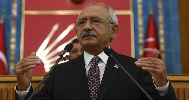 CHP Genel Başkanı Kılıçdaroğlu: Yerel seçimleri erkene alalım
