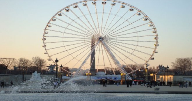 La grande roue de Paris en Belgique